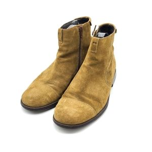 Camper Leather Side Zipper Boots